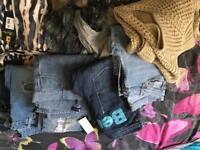 Large bundle of women's clothes