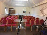 Small Church Hall Space To Let - Every Day including Sunday Morning 24/7 - Seat 50 People