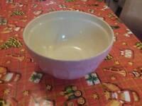 Retro Pink Ceramic Mixing Bowl