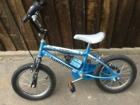 Boys Raleigh Sunbeam Challenger bicycle in great condition