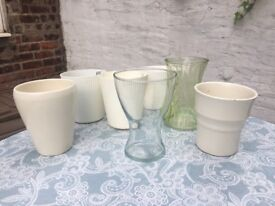 Plant pots and vases
