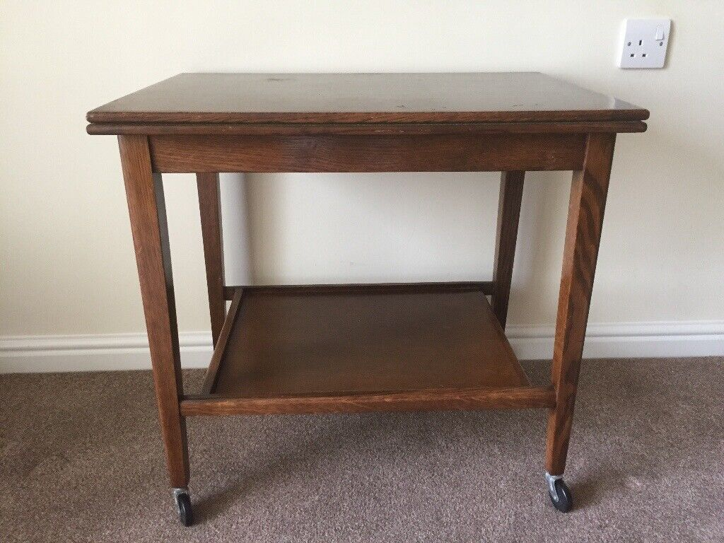 Admirable Vintage Retro 1960S Folding Card Table Trolley By Eastcraft Of Scotland In Newcastle Tyne And Wear Gumtree Ncnpc Chair Design For Home Ncnpcorg