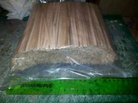 Joblot of 2 x packet wooden stirrers and 6 cork coasters