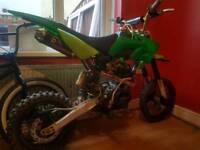 Ghost/bulldog loncin 150cc pitbike