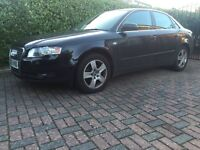 Audi A4 55 Plate (newer shape) 12 months MOT, regular service history in Black Manual Diesel