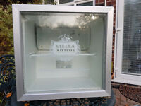 BEER FRIDGE IDEAL FOR XMAS STELLA ARTIOS FULLY WRAPPED IN CARBON