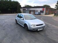 2004 Volkswagen Golf 1.4 5 door 12 months mot/3 months warranty