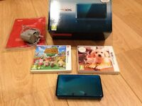 Nintendo 3DS Console and Two 3DS Nintendo Games