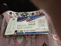 Bath and West Show tickets