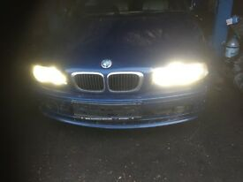 52 BMW E46 CONVERTIBLE 325 AUTO THIS CARS FOR PARTS ALL PARTS AVALIABLE