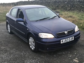 Vauxhall Astra 1.7 CDTI 5 Dr 2003