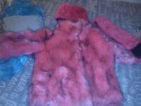 Next fur coat hat and wrap