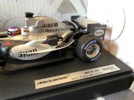 McLaren F1 MP4-20 (Juan Pablo Montoya) 1/18 die cast model