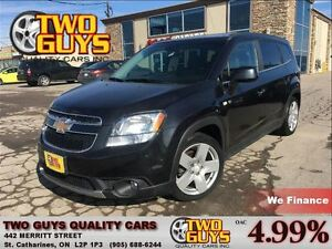2012 Chevrolet Orlando LTZ MOON ROOF 2 TONE SEATING
