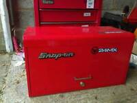 Snap-On 6 draw lockable top chest toolbox