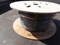 Armoured cable 6mm 3core 50mts new unused ideal for suuply to garage or out building