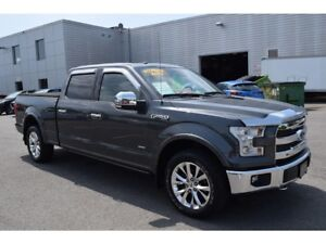 2016 Ford F-150 Lariat/CUIR/TOIT PANO/ECOBOOST