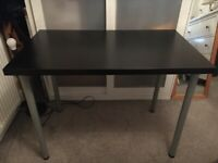 Ikea Linnmon Desk - Black