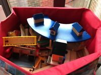 Loads and loads of wooden train track!