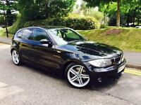 2006 56 BMW 130i M SPORT FULL HISTORY TV's IN HEADREST LOW MILES HPI CLEAR