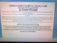 THE QUEEN ELIZABETH HOSPITAL TRAVEL CLUB.