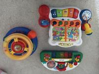 3 musical baby toys