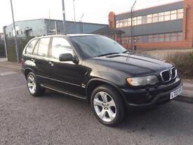 ***BMW X5 3.0 D GOOD HISTORY+MOT+DRIVES LOVELY+AUTO+ALLOYS+PRIVACY GLASS*** £2499!