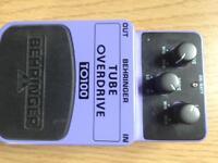Behringer overdrive pedal.