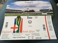 England vs South Africa 29th of May tickets in hand