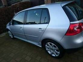 REDUCED FROM £3300 VOLKSWAGEN (VW) GOLF MKV (MK5) 2.0l GT TDI 4MOTION