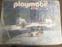 Playmobil train and track set 4018