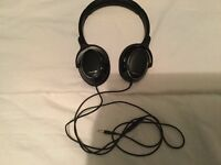 Klipsch headphones black Rrp£50
