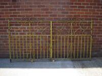 Wrought Iron House Gates