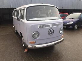 1970 Volkswagen EarlyBay WalkThrough Camper Van