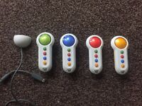 4 X Wireless Buzz Controllers - Excellent Condition