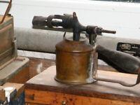 Vintage blow lamps