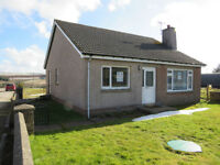 3 Bed Detached Bungalow with Large Garden, New Byth, Turriff