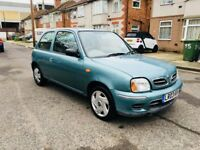Nissan Micra 1.0 16v S CVT 3dr, AUTOMATIC, LOW MILE 60000, HPI CLEAR, LAST SERVICE DONE,