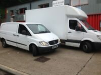 Professional Low Cost MAN AND VAN (House Flat Office Removals)(Short notice)