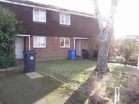 2 BEDROOM UNFURNISHED TERRACED HOUSE WITH GARAGE
