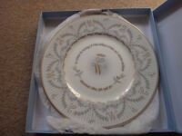 Royal Wedding china plate to celebrate the marriage of Prince William and Catherine Middleton