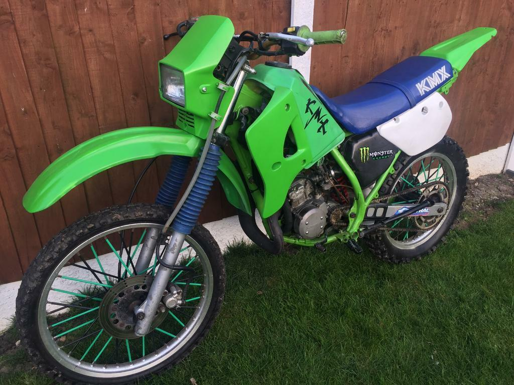 kawasaki kmx 125 road legal motocross bike in pitsea essex gumtree. Black Bedroom Furniture Sets. Home Design Ideas