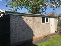 Pre fabricated concrete garage ( buyer to disassemble & take away)