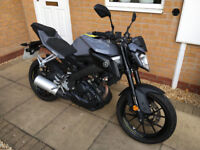2017 YAMAHA MT125 ( ABS ) GREY / 10 MONTHS OLD *** DELIVERY AVAILABLE ***