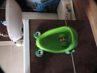 boys frog urinal