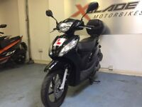 Honda Vision 110cc Automatic Scooter, Black, Top Box, 1 owner, V Good Cond, ** Finance Available **