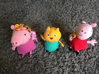 Peppa pig and Candy Cat toys