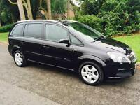 2007 zafira energy 1.6 7 seater 2 keys Mot 20th Nov 2017