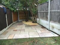 Garden patio services