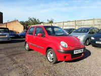 2003 MATIZ 1.0 PETRO = CHEAP INSURANCE = ONE YEAR MOT, EXCELLENT CONDITION